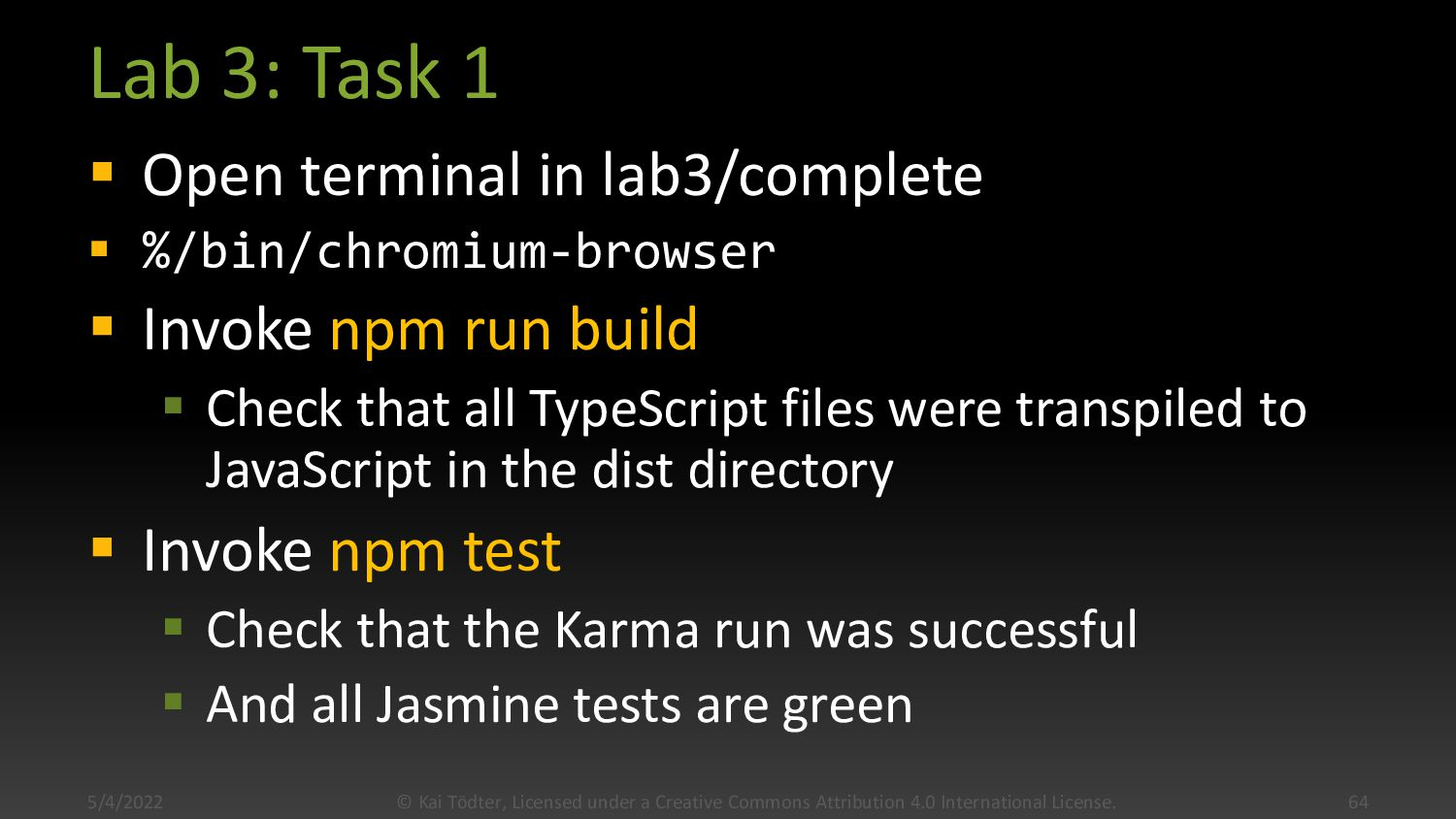Karma Config Example module.exports = function(...