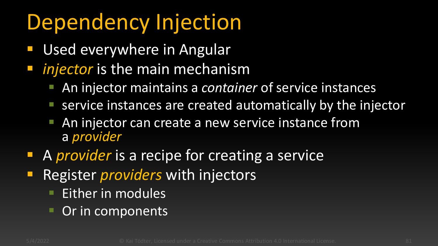 Two Way Databinding  Component <-> DOM  <inpu...