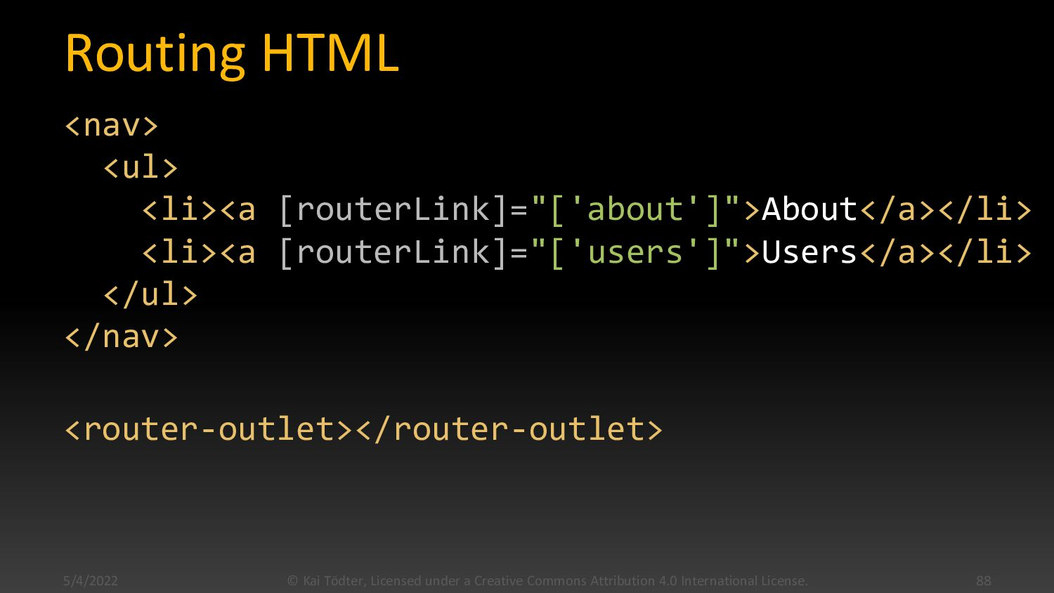 Router Configuration import { Routes } from '@a...
