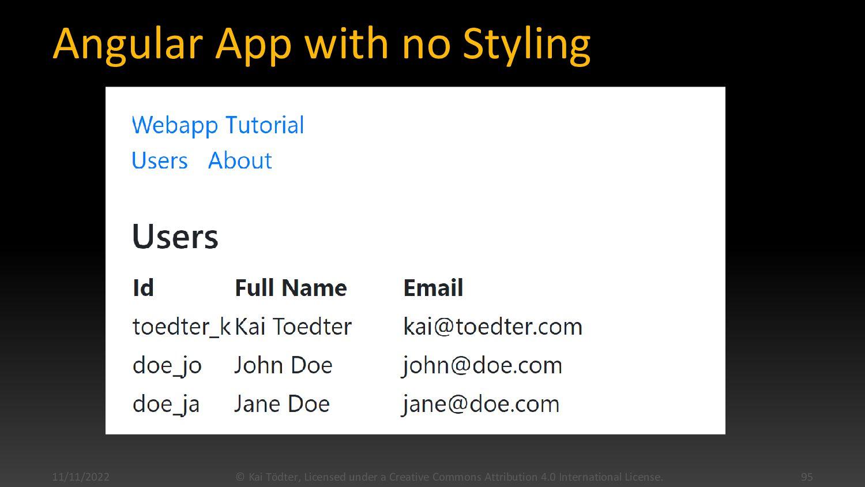 Angular & TypeScript  Angular is written itsel...