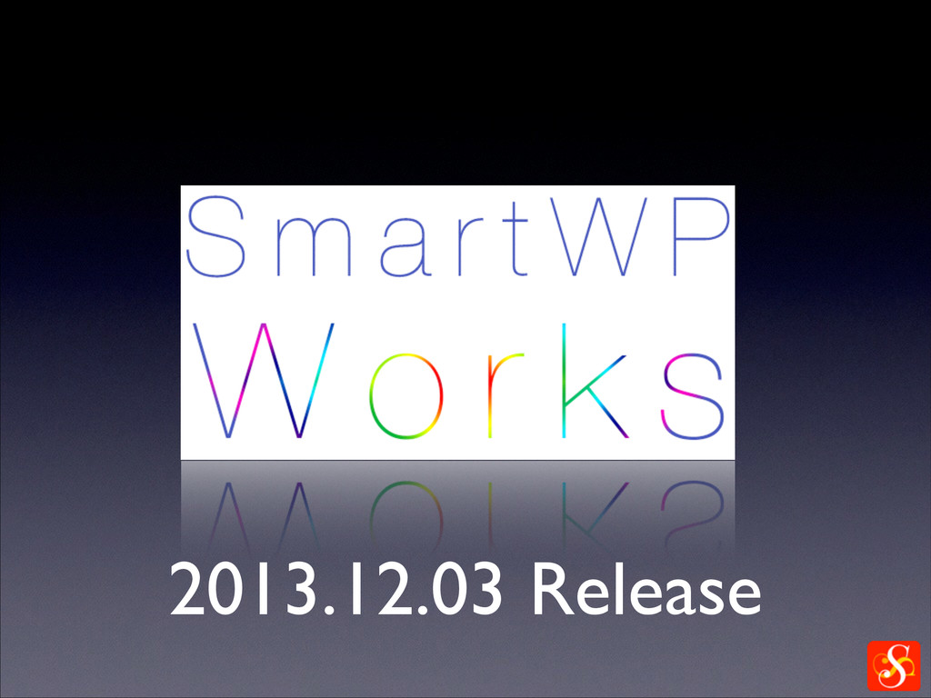2013.12.03 Release