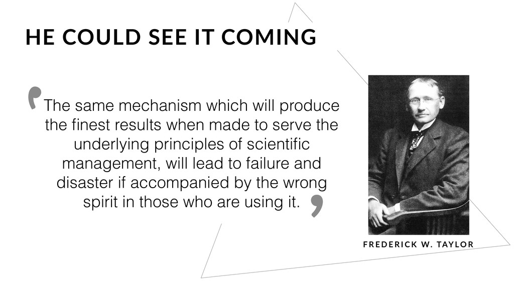 The same mechanism which will produce the finest...
