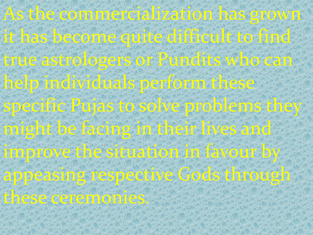 As the commercialization has grown it has becom...