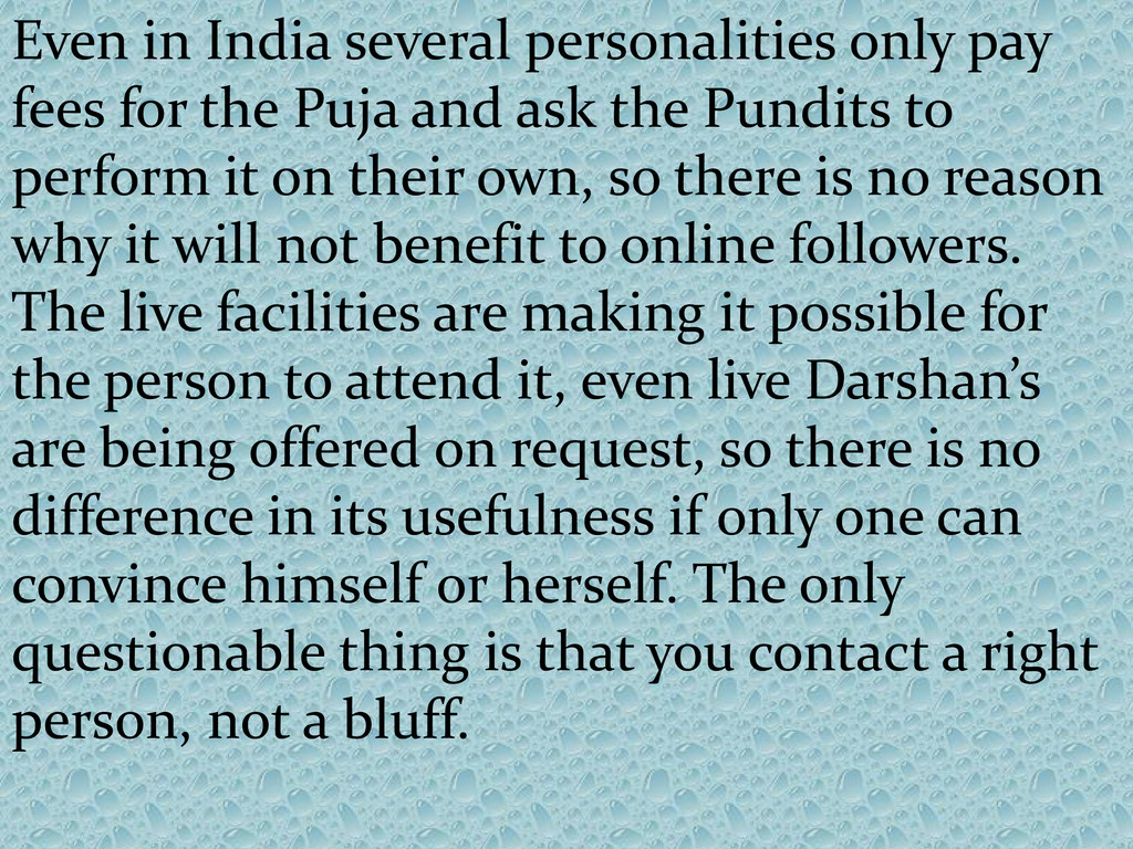 Even in India several personalities only pay fe...