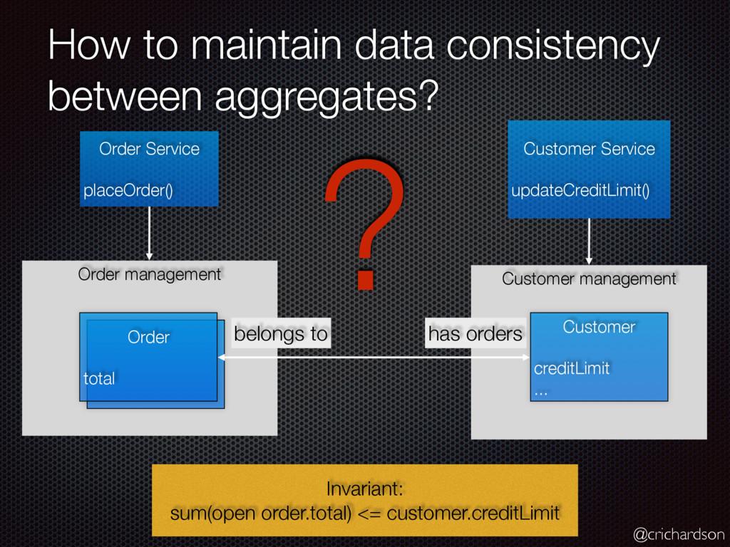 @crichardson Customer management How to maintai...