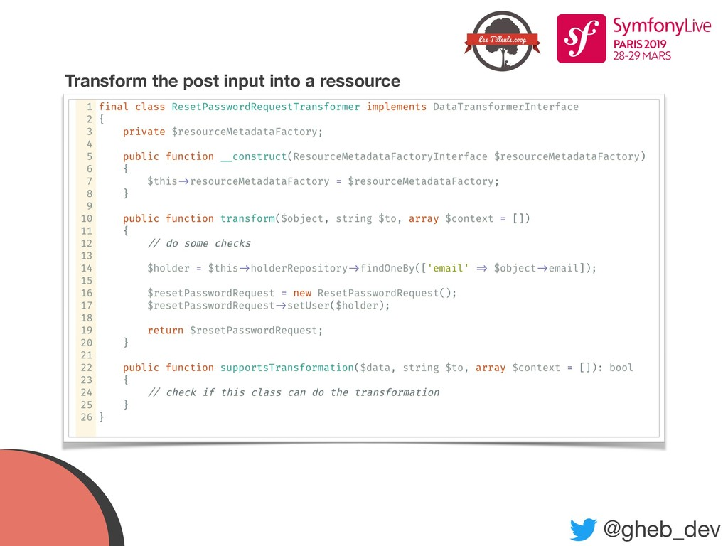 @gheb_dev Transform the post input into a resso...