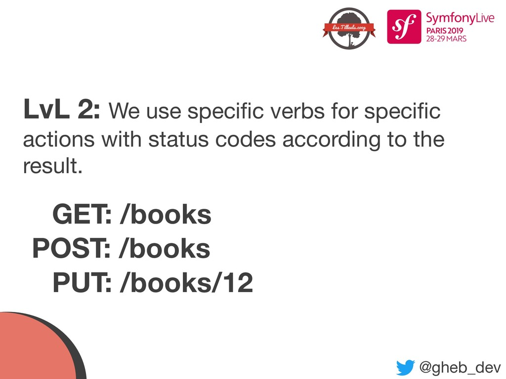 @gheb_dev LvL 2: We use specific verbs for speci...