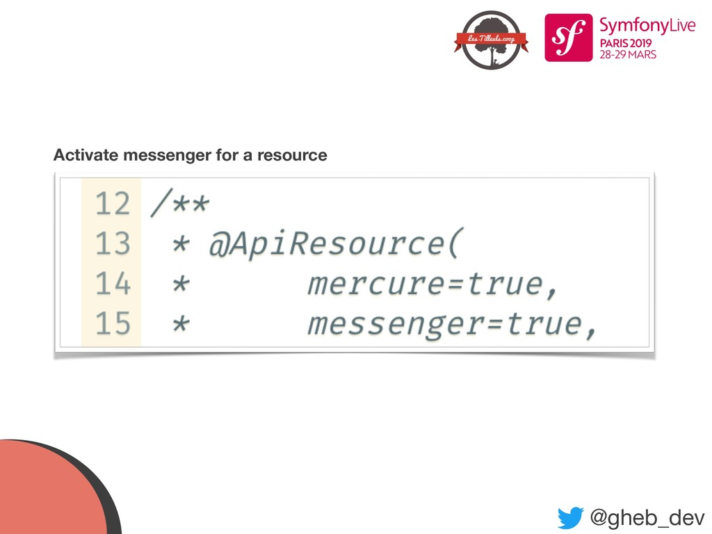 @gheb_dev Activate messenger for a resource