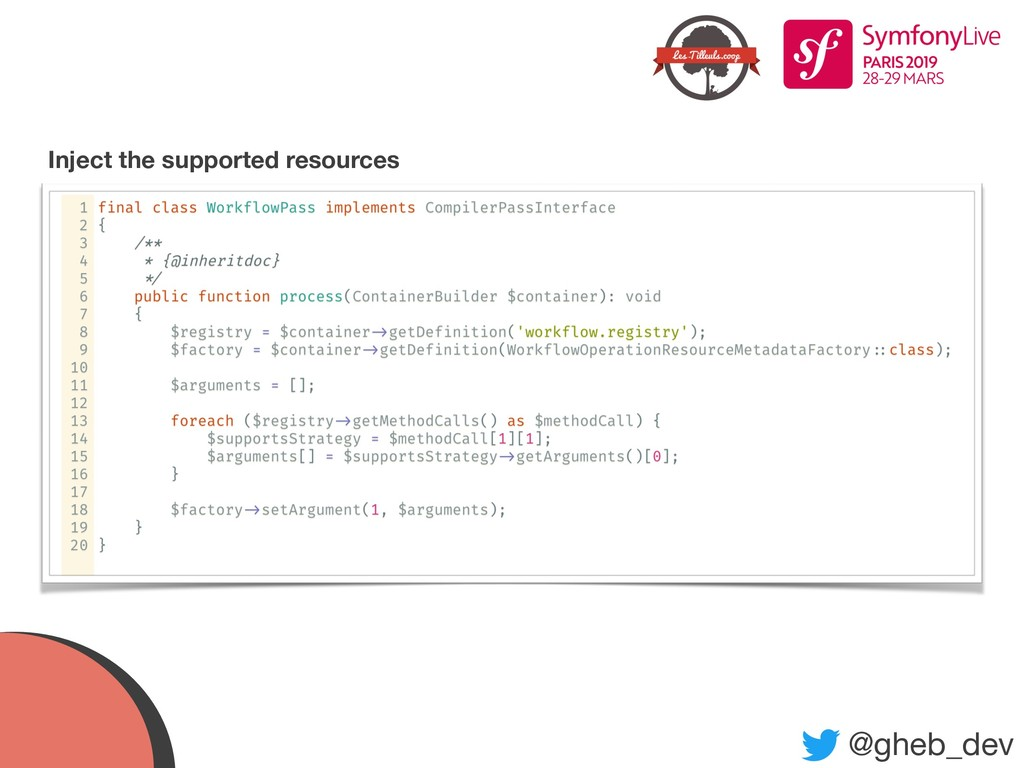 @gheb_dev Inject the supported resources