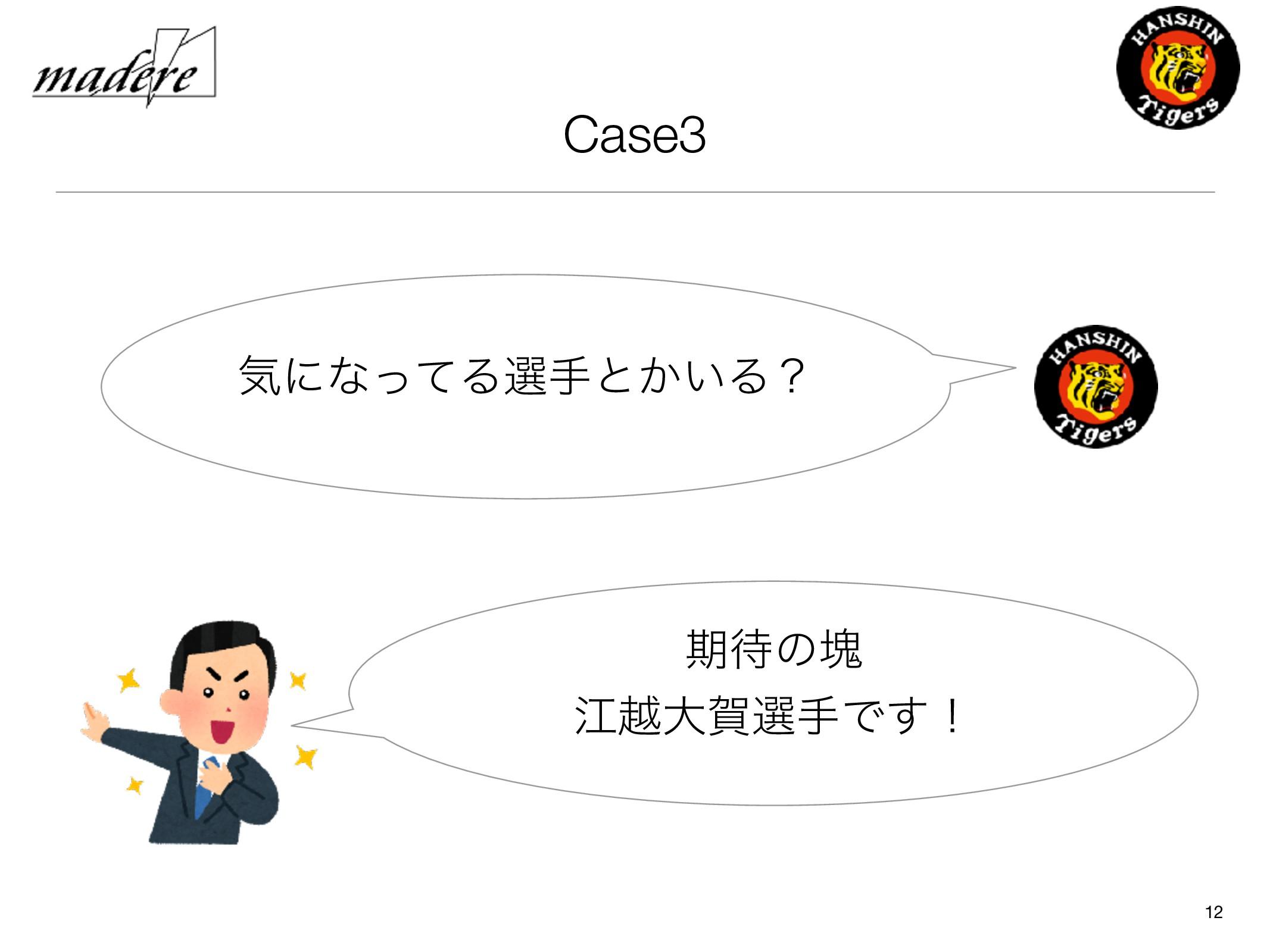Case3 12 ؾʹͳͬͯΔબखͱ͔͍Δʁ ظͷմ ߐӽେլબखͰ͢ʂ