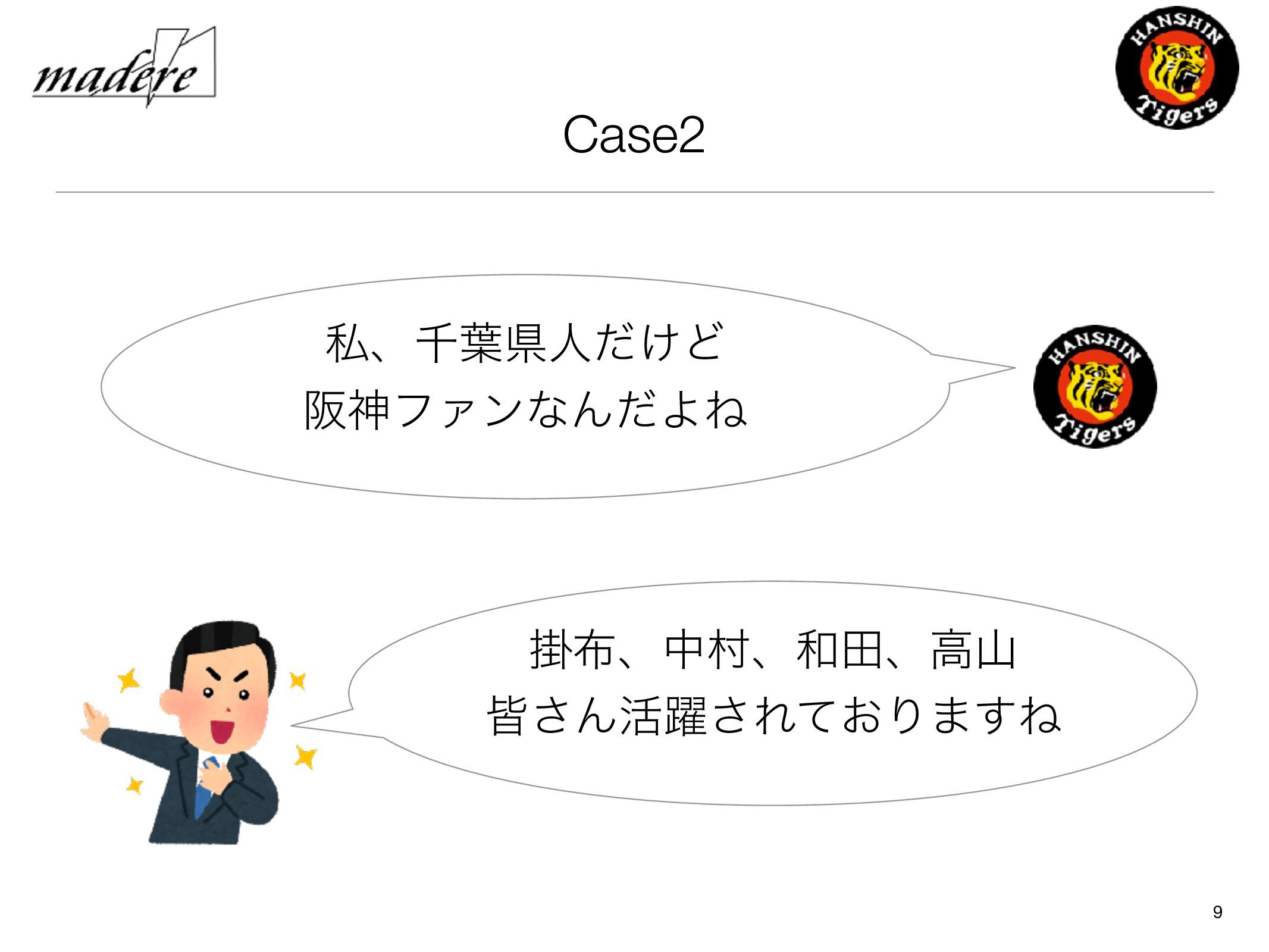 Case2 9 ࢲɺઍ༿ݝਓ͚ͩͲ ࡕਆϑΝϯͳΜͩΑͶ ֻɺதଜɺాɺߴ օ͞Μ׆༂͞...
