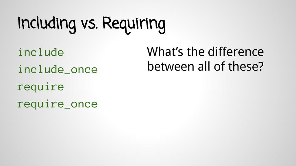 include include_once require require_once Inclu...