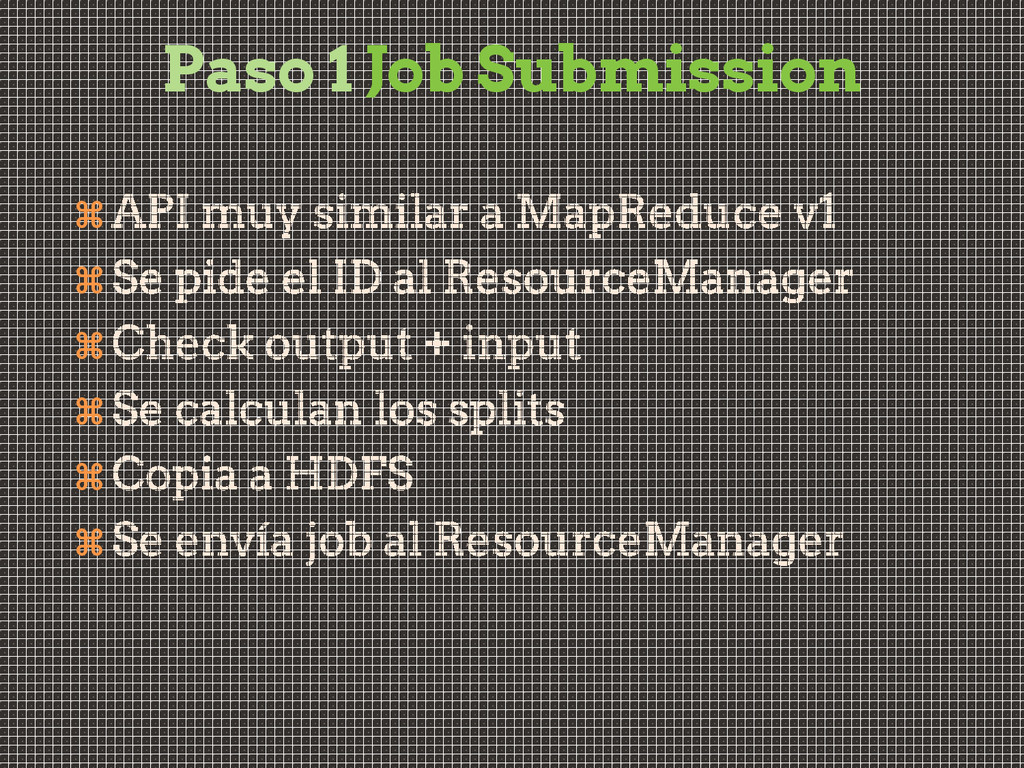 Paso 1 Job Submission      