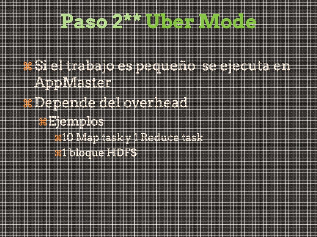 Paso 2** Uber Mode     