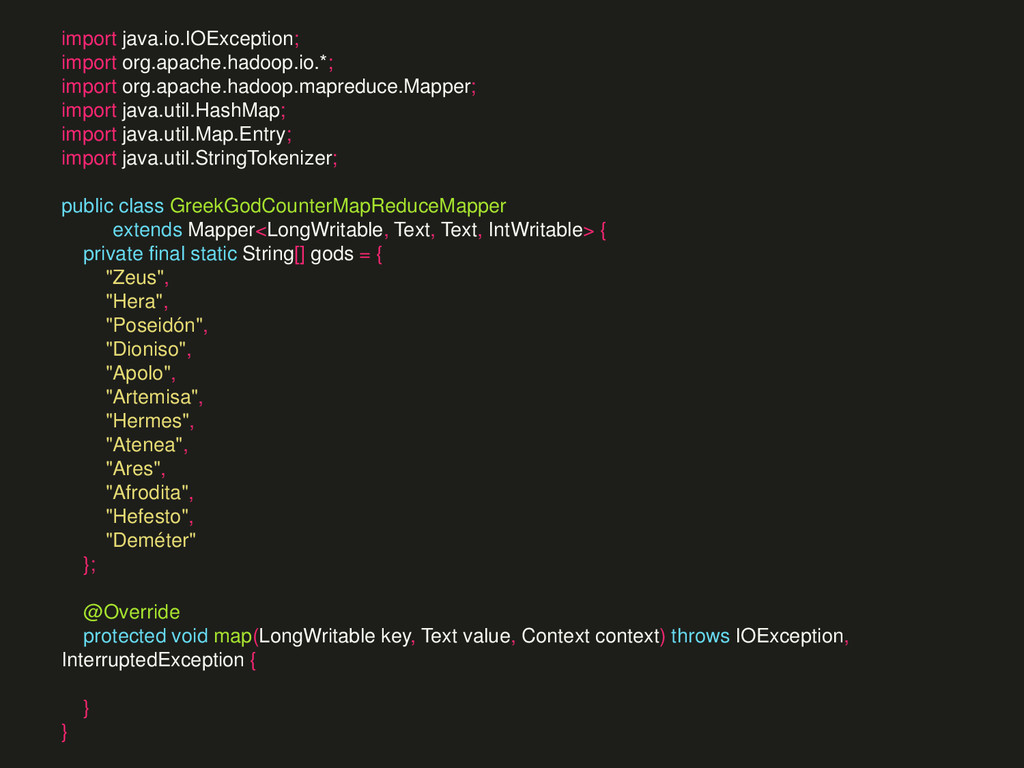 import java.io.IOException; import org.apache.h...