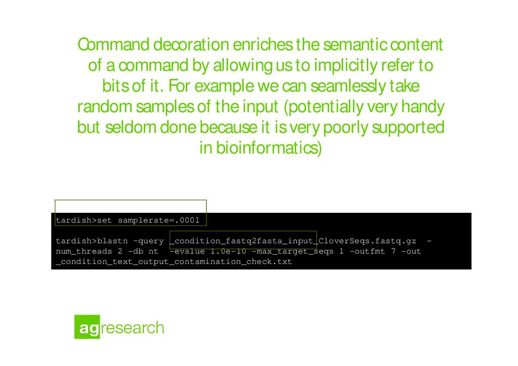 Command decoration enriches the semantic conten...