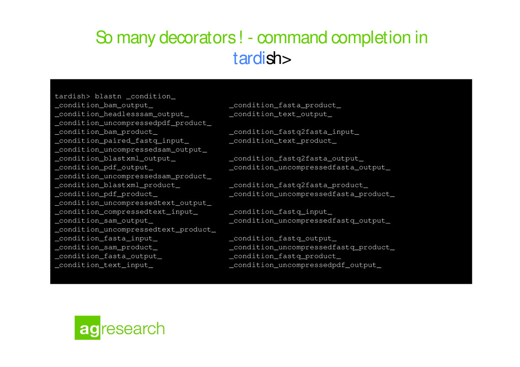 So many decorators ! - command completion in ta...