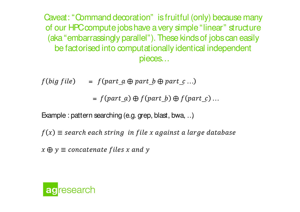 """Caveat: """"Command decoration"""" is fruitful (only)..."""