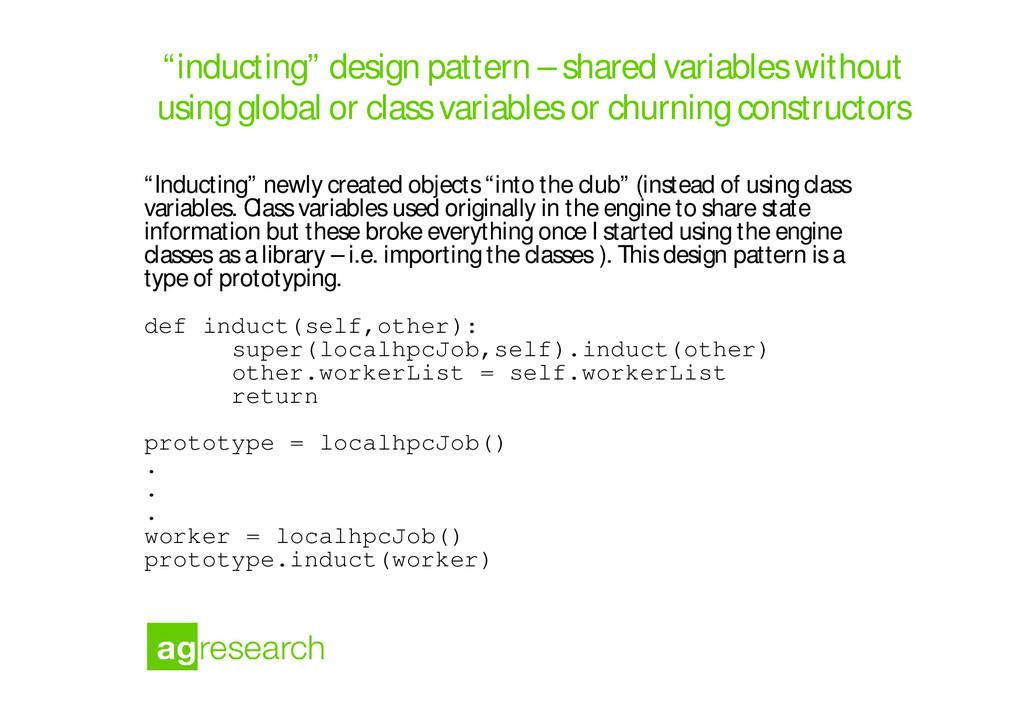 """""""inducting"""" design pattern – shared variables w..."""