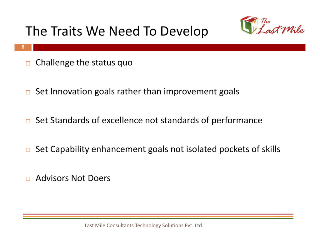 The Traits We Need To Develop 6 Challenge the s...