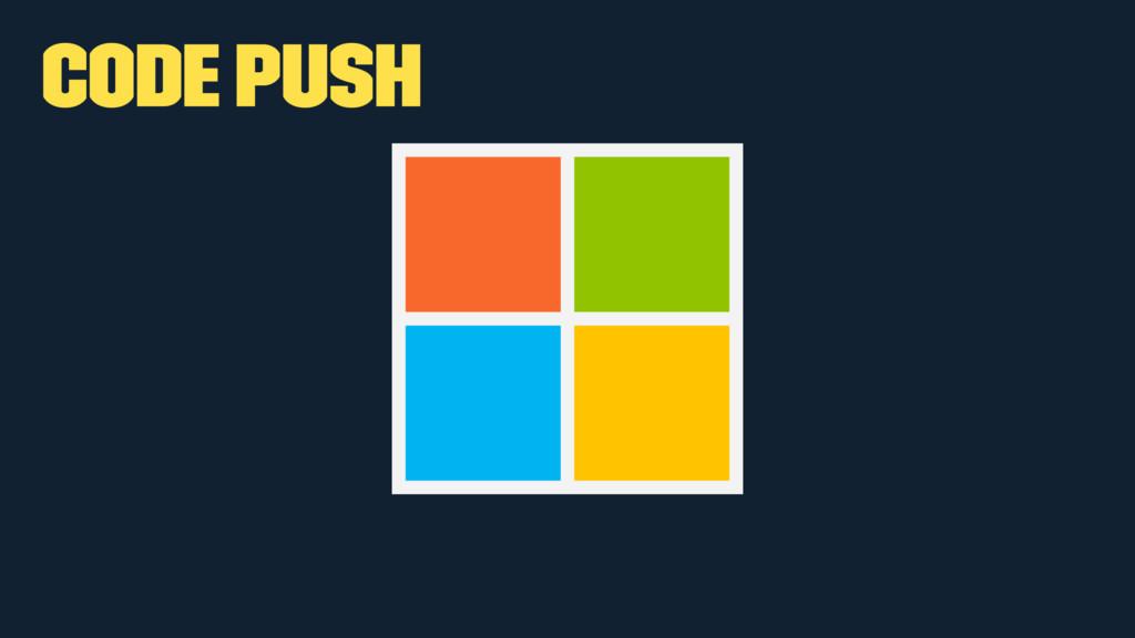 Code push