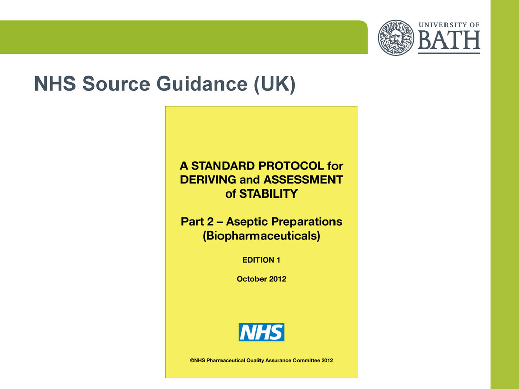 NHS Source Guidance (UK)