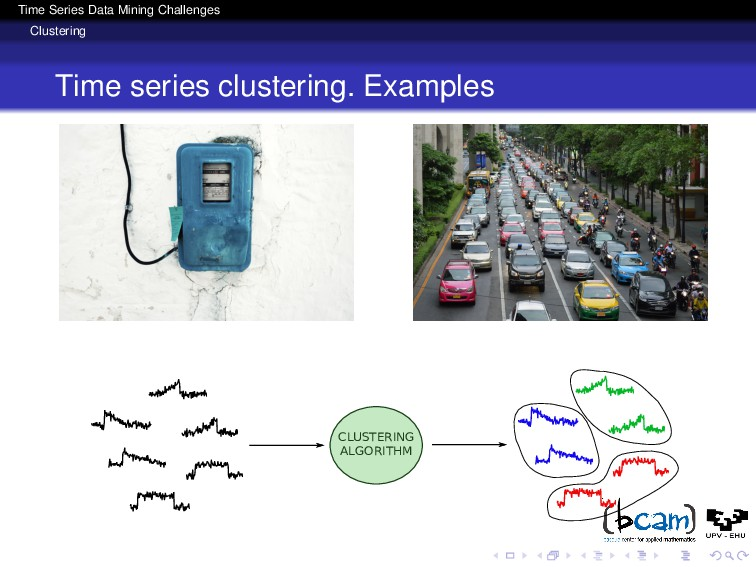 Time Series Data Mining Challenges Clustering T...