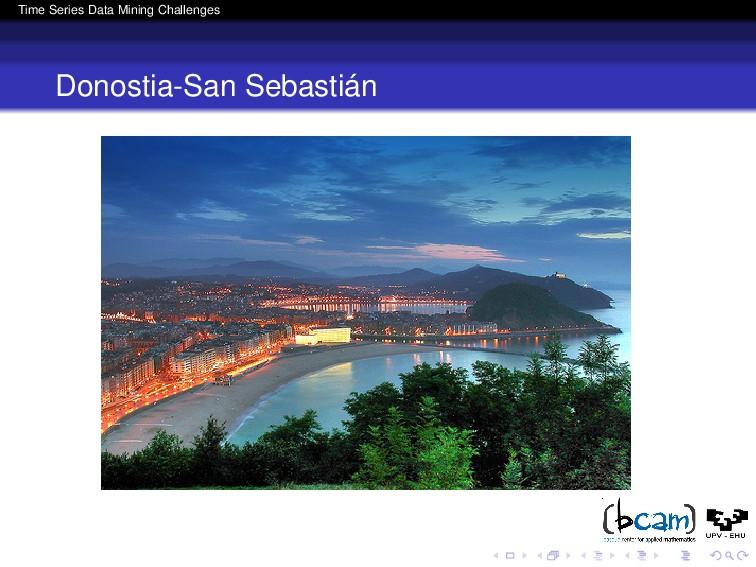 Time Series Data Mining Challenges Donostia-San...