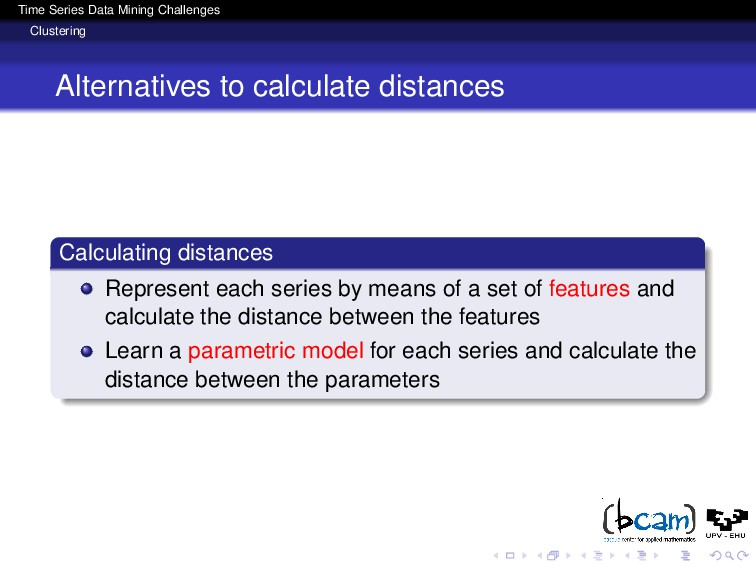 Time Series Data Mining Challenges Clustering A...