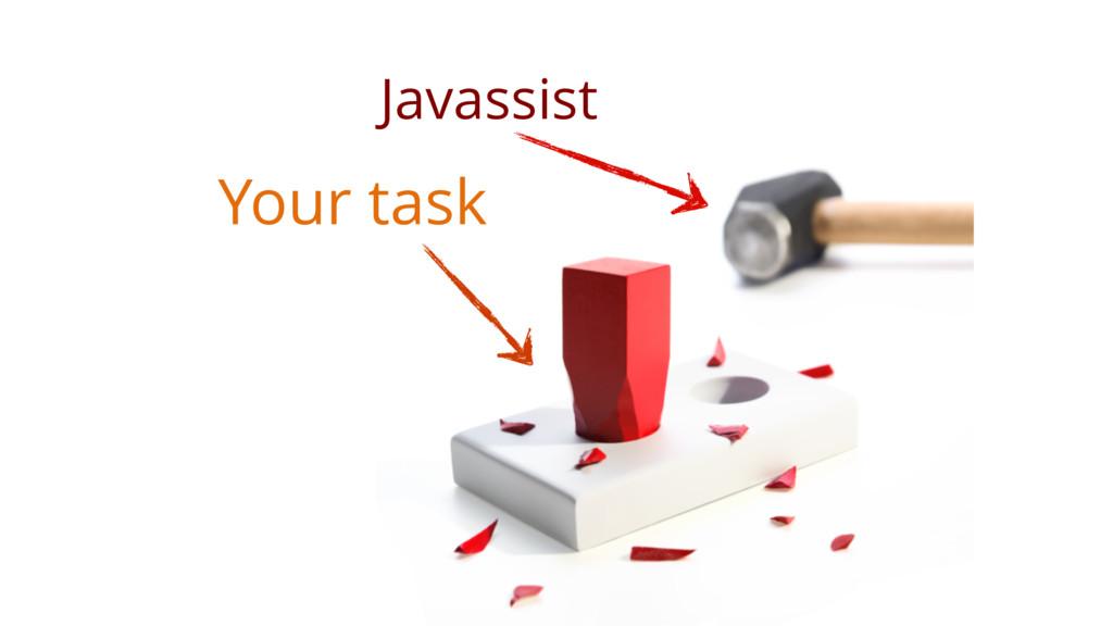 Your task Javassist