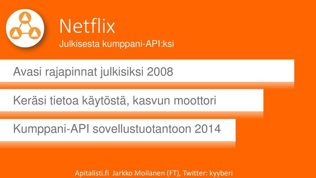 Netflix Avasi rajapinnat julkisiksi 2008 Keräsi...