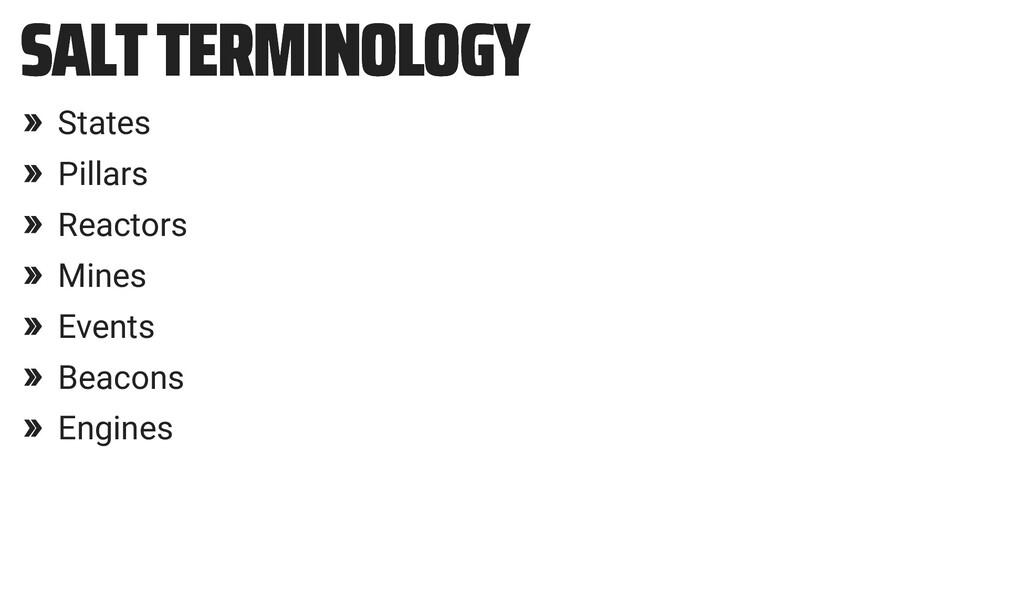 SALT TERMINOLOGY SALT TERMINOLOGY » States » Pi...