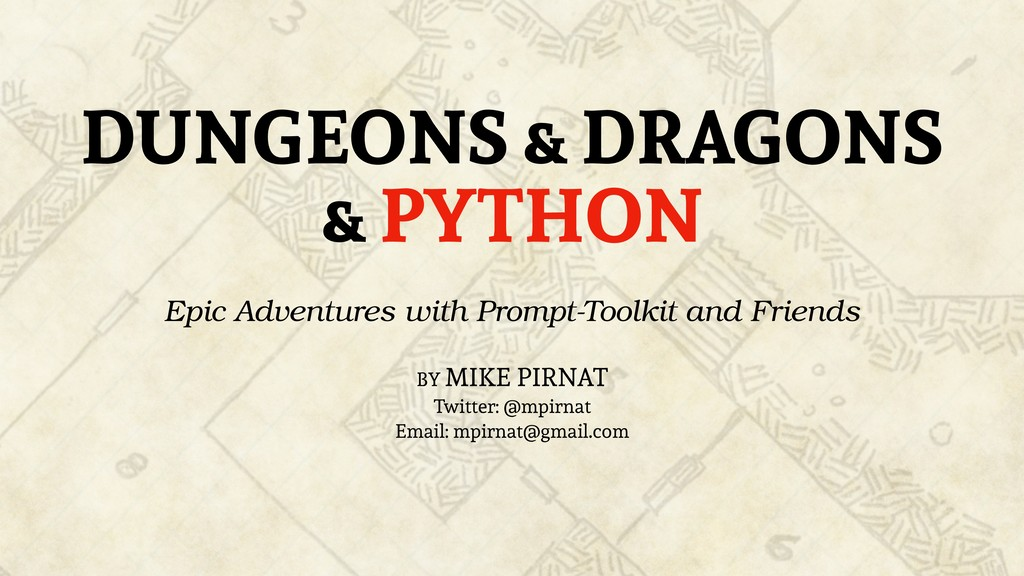 DUNGEONS & DRAGONS & PYTHON Epic Adventures wit...