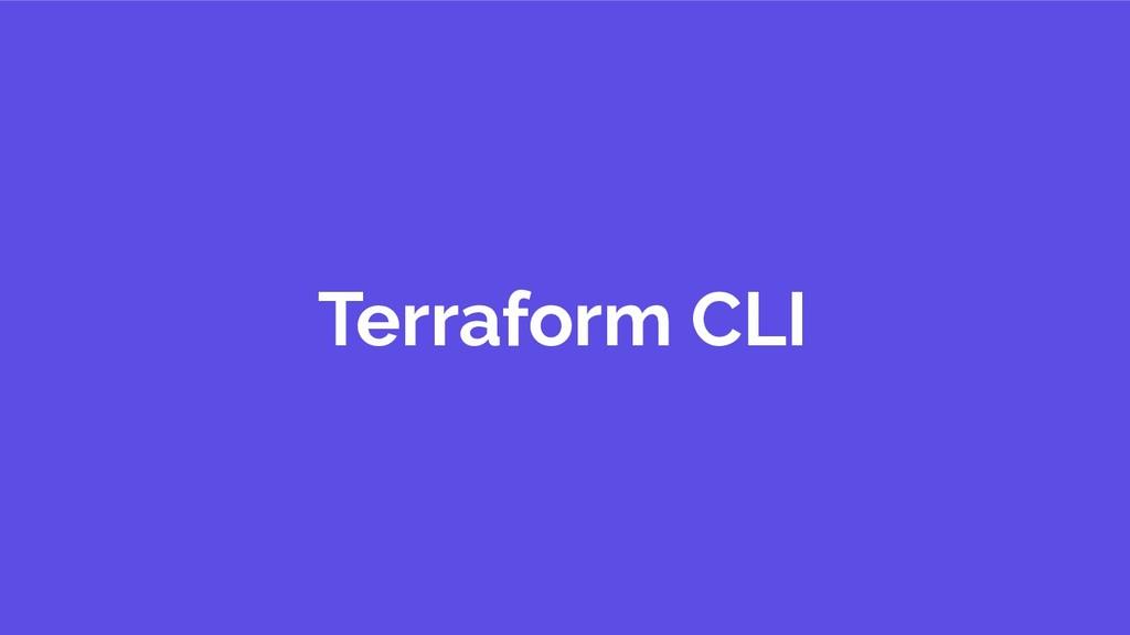 Terraform CLI