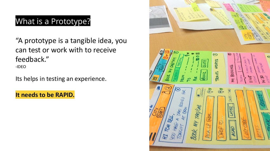 """What is a Prototype? """"A prototype is a tangible..."""