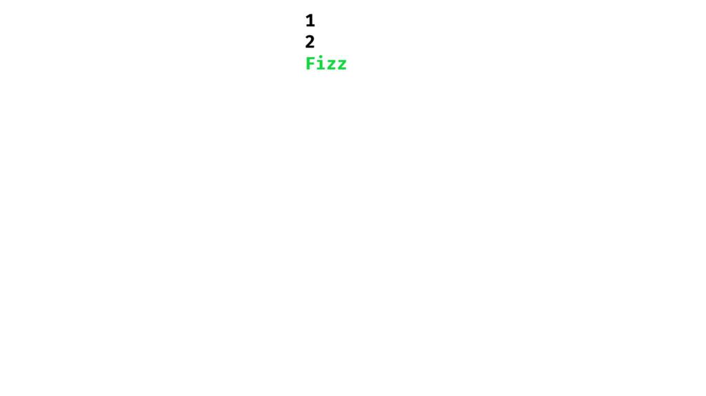 1 2 Fizz