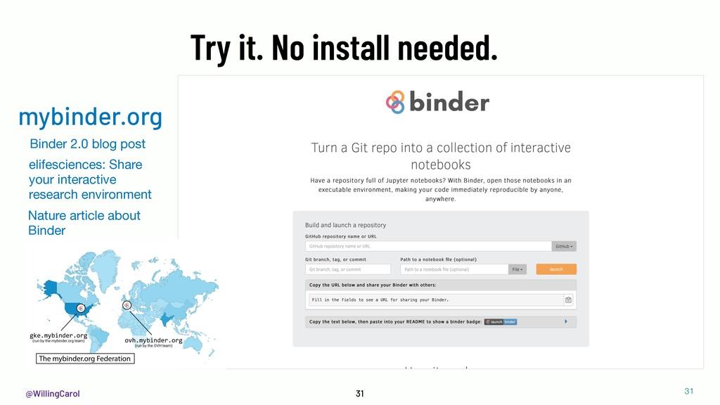 @WillingCarol 31 Binder 2.0 blog post elifescie...