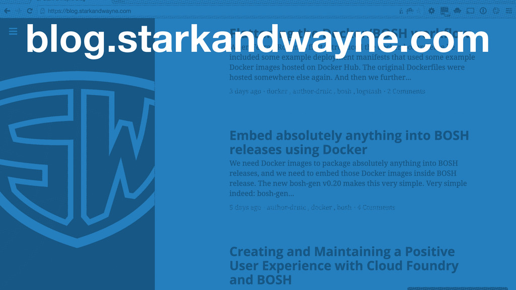 blog.starkandwayne.com