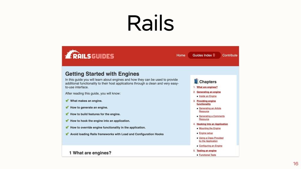 Rails 16