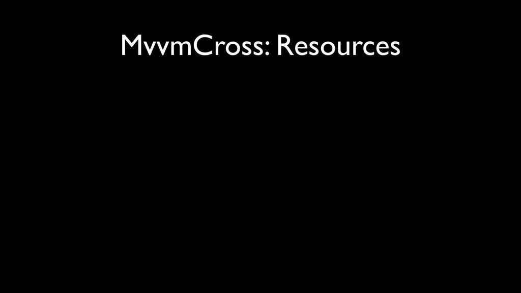 MvvmCross: Resources