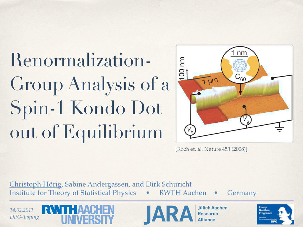 14.02.2011 DPG-Tagung Renormalization- Group An...
