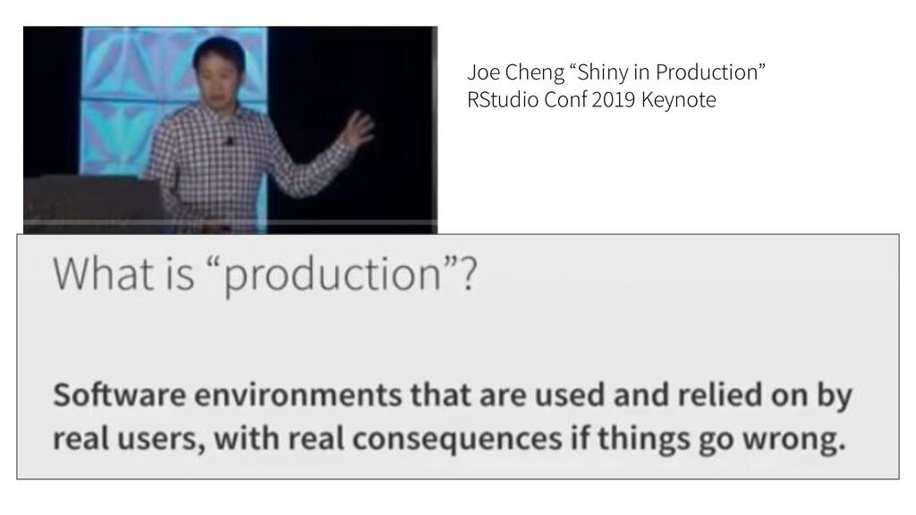 "Joe Cheng ""Shiny in Production"" RStudio Conf 20..."