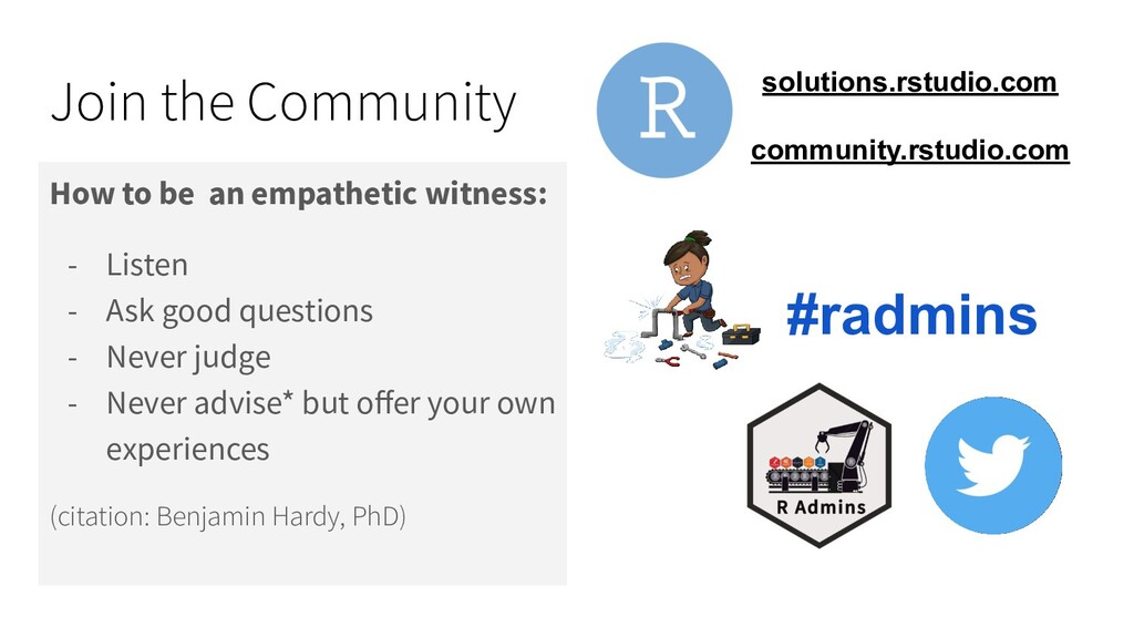 Join the Community How to be an empathetic witn...