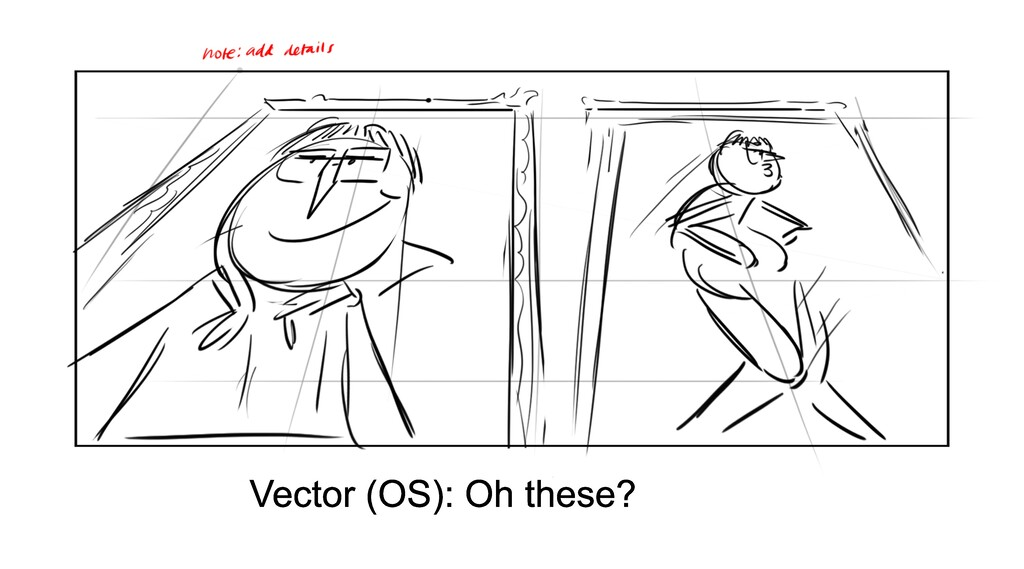 Vector (OS): Oh these?