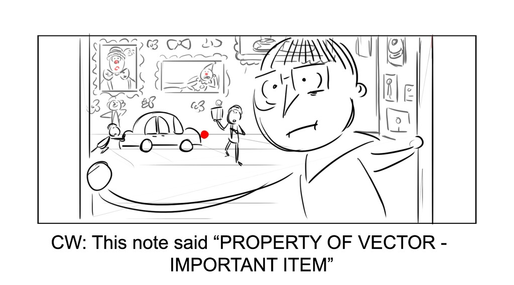 """CW: This note said """"PROPERTY OF VECTOR - IMPORT..."""