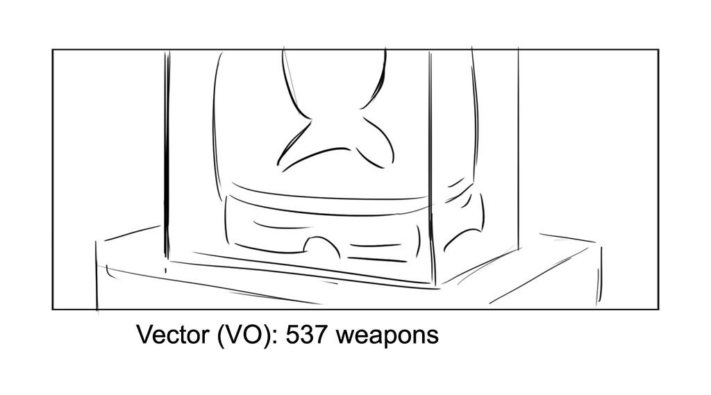 Vector (VO): 537 weapons