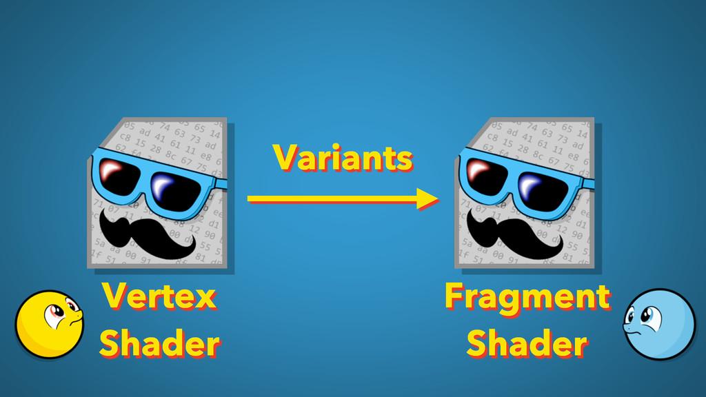 Variants Vertex Shader Fragment Shader