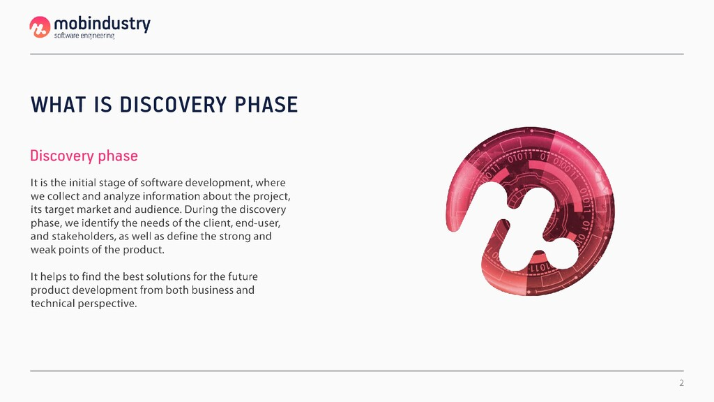 WHAT IS DISCOVERY PHASE Discovery phase