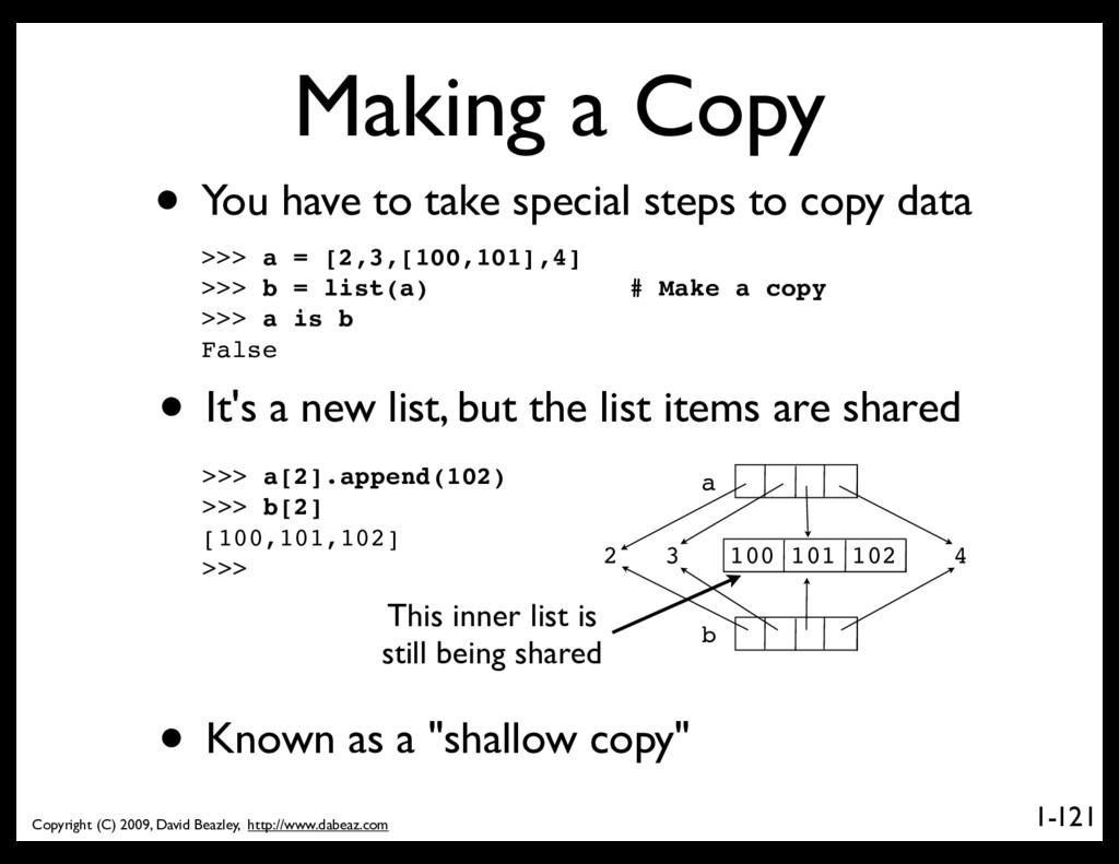 Copyright (C) 2009, David Beazley, http://www.d...