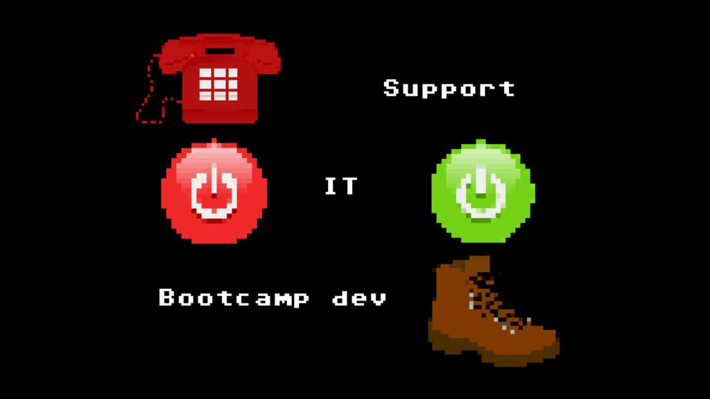 Support IT Bootcamp dev